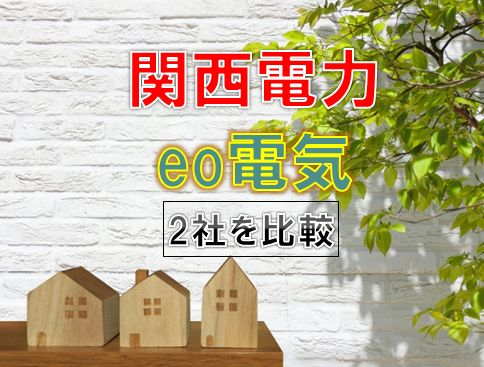 eo電気と関西電力を比較