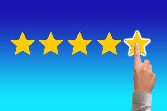 5つ星評価