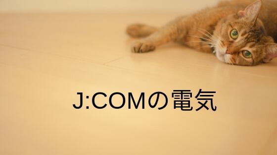 jcom電力